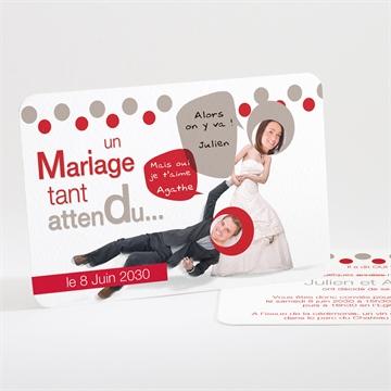 Faire Part Mariage Humour Original Monfairepart Com