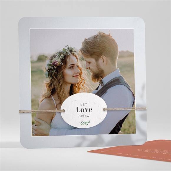 Remerciement mariage Coming Soon réf.N351178