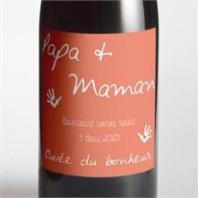 etiquette de bouteille mariage rf n300970 - Faire Part Mariage Papa Et Maman Se Marient