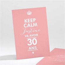 invitations anniversaire adulte sur monfairepart. Black Bedroom Furniture Sets. Home Design Ideas