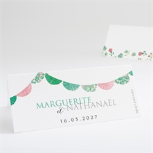 Marque-place mariage réf. N440675