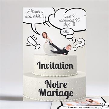 Faire Part Mariage Humoristique Sur Monfairepart