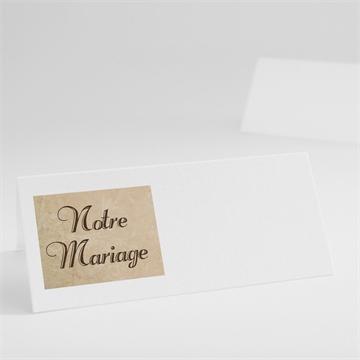 Marque-place mariage réf.N440140