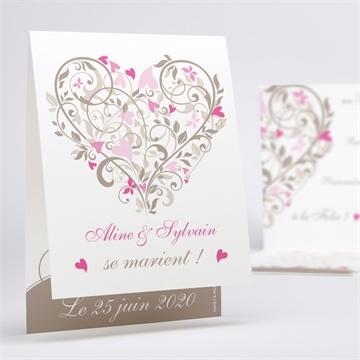Faire-part mariage réf.N50129