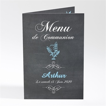 Menu communion réf. N401245