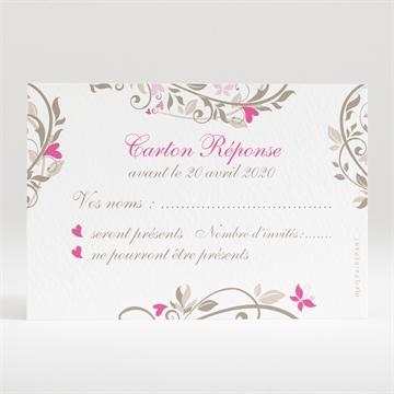 Carton réponse mariage réf. N120241
