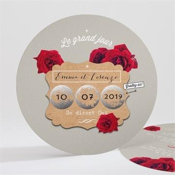 Faire-part mariage réf. N32158