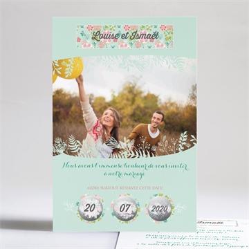 Faire-part mariage réf.N24169