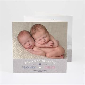 Faire-part naissance réf.N83011