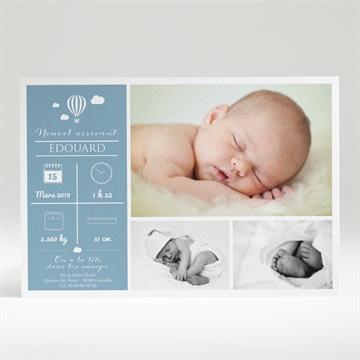 Faire-part naissance réf. N14024