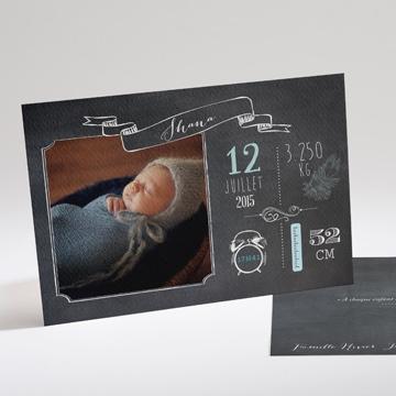 Faire-part naissance réf.N14158