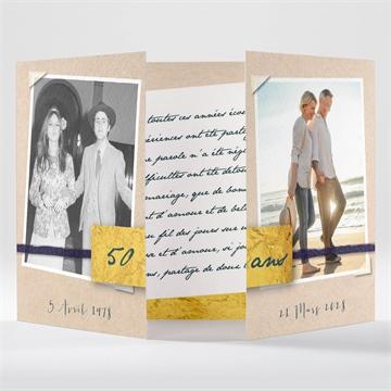 Invitations D Anniversaire De Mariage à Personnaliser