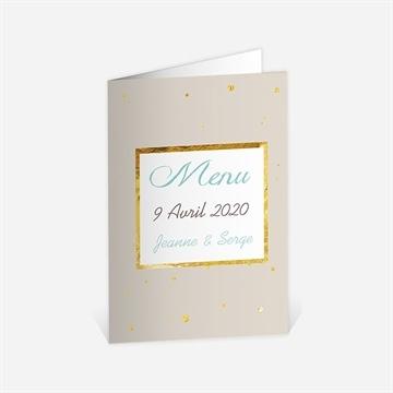 Menus Anniversaire De Mariage Sur Monfairepart