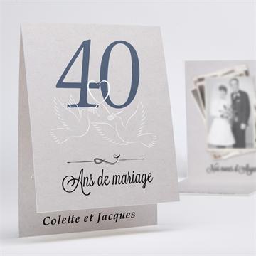 Invitations Anniversaire De Mariage Sur Monfairepart