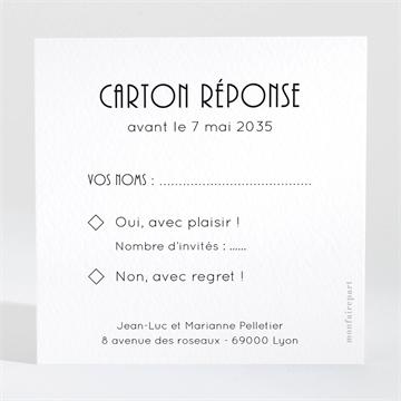 Carton réponse anniversaire de mariage réf. N300496