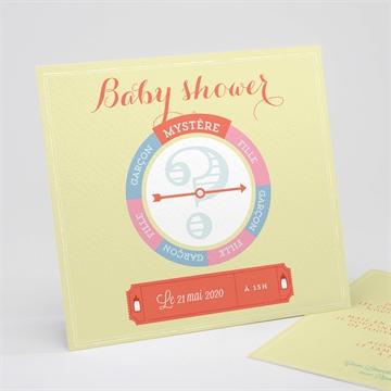 Faire-part baby shower réf. N311138