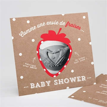 Faire-part baby shower réf. N311139
