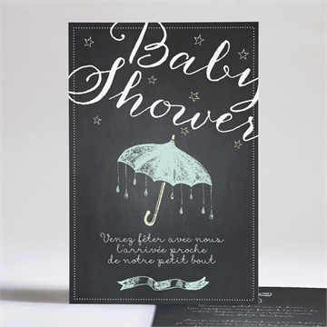 Faire-part baby shower réf. N24193