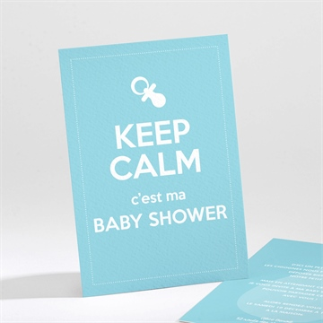 Faire-part baby shower réf.N21184