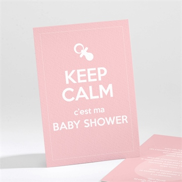 Faire-part baby shower réf. N21185