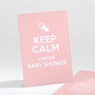 Faire-part baby shower réf.N21185
