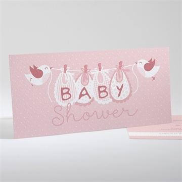 Faire-part baby shower réf.N13138