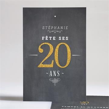 Invitation anniversaire réf.N24196