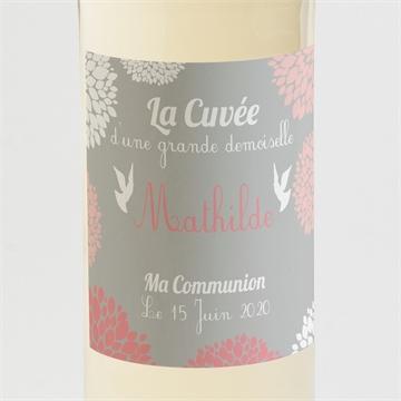 Etiquette de bouteille communion réf.N300517