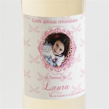 Etiquette de bouteille communion réf. N300530
