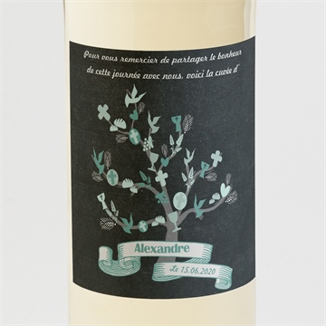 Etiquette de bouteille communion réf.N300532