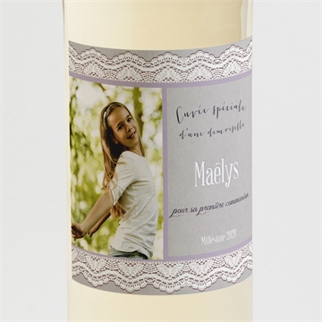 Etiquette de bouteille communion réf. N300534
