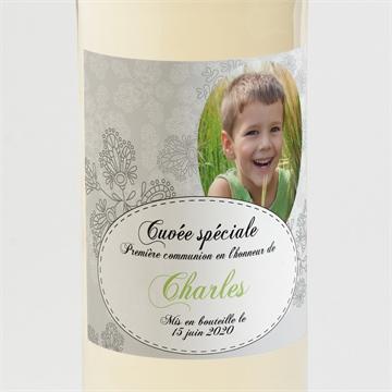 Etiquette de bouteille communion réf.N300535