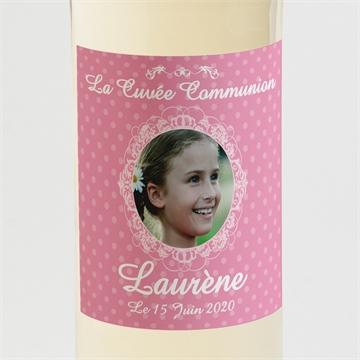 Etiquette de bouteille communion réf.N300596
