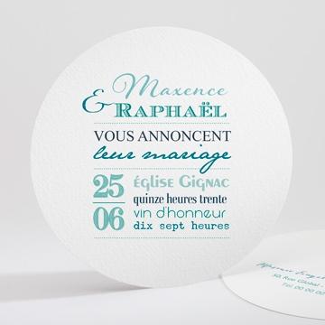 Faire-part mariage réf.N32173