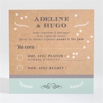 Carton réponse mariage réf. N300681