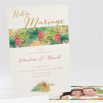 Faire-part mariage réf.N241108