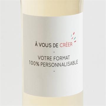 Etiquette de bouteille communion réf. N300791