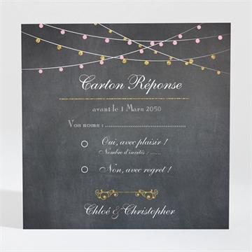 Carton réponse mariage réf. N300876