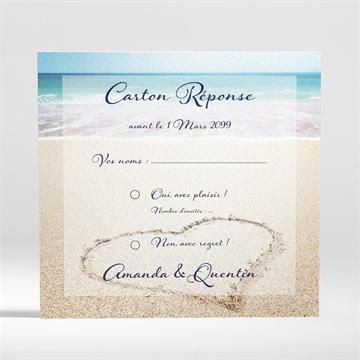 Carton réponse mariage réf. N300886