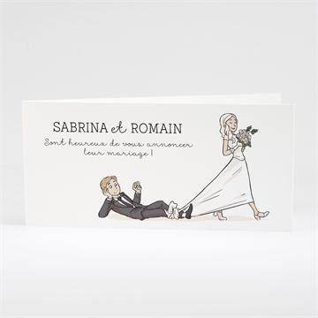 Faire-part mariage réf. N43145
