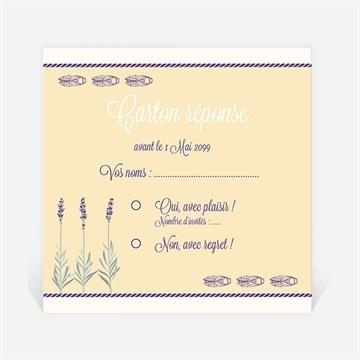 Carton réponse départ à la retraite réf. N3001155