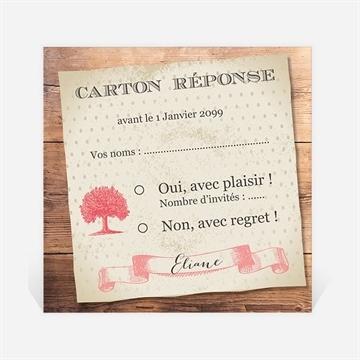 Carton réponse départ à la retraite réf. N3001163