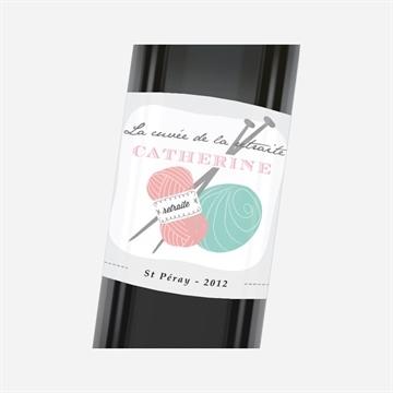 Etiquette de bouteille départ retraite réf.N3001170