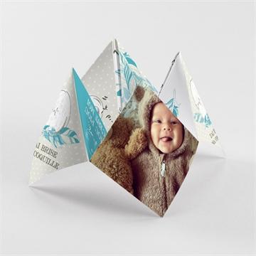 Faire-part naissance réf. N33048