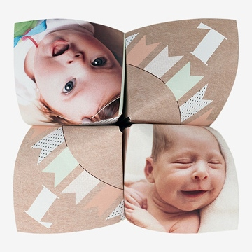 Faire-part naissance réf. N33049