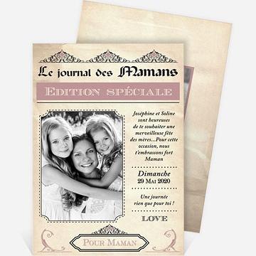 Carte fête des mères réf.N211118