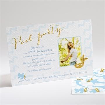 invitations anniversaire ado sur monfairepart