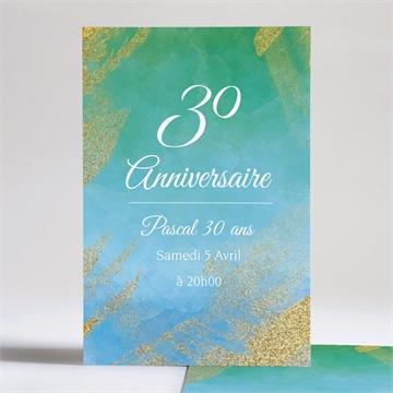 Invitation anniversaire réf. N241120