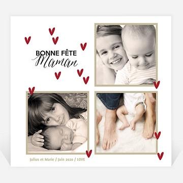 Carte fête des mères réf. N31011