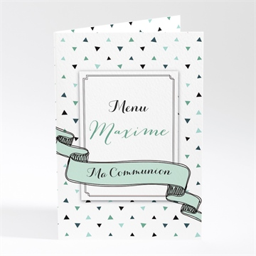 Menu communion réf. N401742